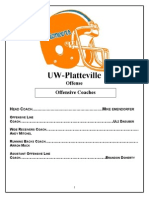 UWP Total Offense by Mike Emendorfer