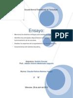 Ensayo - Trabajo Final Bloque 2- GESTION ESC.
