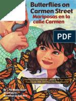 Butterflies on Carmen Street / Mariposas en La Calle Carmen by Monica Brown