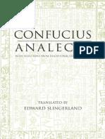 Confucian Analects - Edward Slingerland