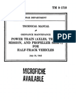 (1942) Technical Manual TM 9-1710 Half Track