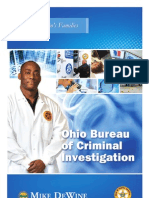 Ohio Bureau of Criminal Investigation (BCI) Overview Brochure