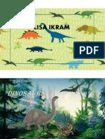 Dinosaur Presentation