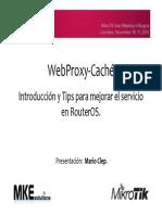 Web Proxy Cache