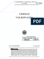 (1944) Technical Manual TM E9-803-1 German Volkswagen