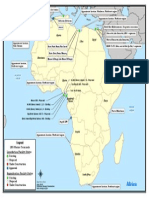 Africa LNG Map