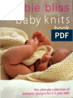 70124707 Knitting Debbie Bliss the Baby Knits Book