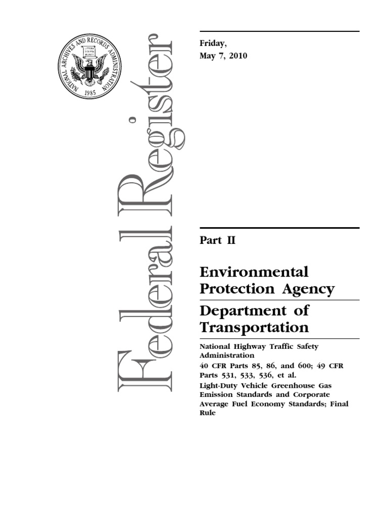 2012 2016 cafe regulations fuel economy in automobiles national
