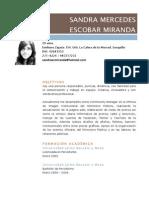 Sandra Mercedes Escobar Miranda