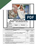 Manual de Trabajo Docente de Telesecundaria