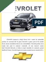 Chevrolet Prezentare