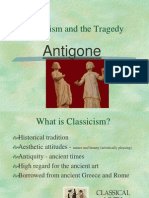 Classicism and Tragedy