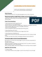 Implementation Considerations for R12 General Ledger Setups
