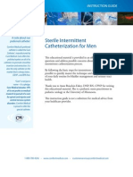 Sterile Intermittent Catheterization for Men
