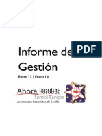 Informe de Gestión 13-14