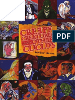 Creepy Creatures and Other Cucuys by Xavier Garza