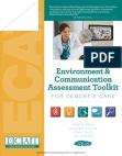 Environment & Communication Assessment Toolkit (ECAT) for Dementia Care (without meters) (ECAT Basic Excerpt)