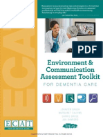 Environment & Communication Assessment Toolkit (ECAT) for Dementia Care (without meters) (Excerpt)