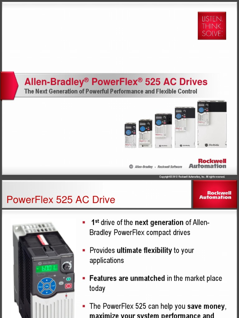 infoplc net powerflex 525 ac drives automation usb