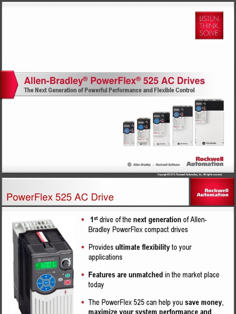 InfoPLC Net PowerFlex 525 AC Drives | Automation | Usb