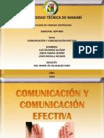 Comunicacion y Comunicación Efectiva