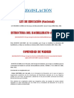 EXPLICACIÓN DE LA LEGISLACIÓN DE MADRID