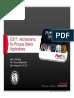 ed17-faulttolerantandfailsafearchitecturesforprocesssafetyapplications_psug2012