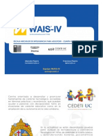 1. Introducción a WAIS-IV