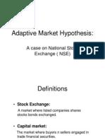 Adaptive Market Hypothesis 2