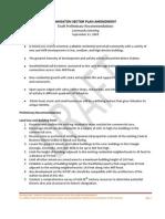 Wheaton Sector Plan Amendment Draft Preliminary Recommendations
