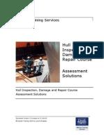 Hull Inspection Assessment - Solutions