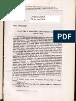 Relja Novakovic, O Datumu i Razlozima Nemanjinog Silaska s Prestola, ZRVI XI (1968) 129-139.