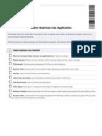 Gabon Business Visa Application