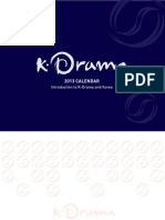 2013 K Drama PhotoCal Eng