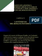 Exequias Del Romano Pontifice