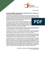 Comunicado Del CONACAI Por El Abordaje de La Noticia GONZALITO VOLVIO a CASA (Noticiero Canal 9)