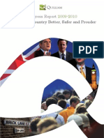Quilliam Foundation Progress Report from 2009/2010