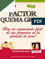 Descargar El Libro Factor Quema Grasa Completo.