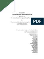 Complete Vision for Herndon-Monroe Station Area--RUDL