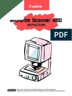 Microfilm Scanner 400