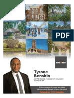 Calendrier 2014 Tyrone Benskin - Format recto-verso, couleurs / Tyrone Benskin 2014 calendar, double-sided, full-colour