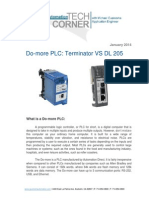 TechCorner 40 -  Do-More Terminator vs DL205