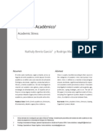ESTRÉS ACADÉMICO Revista de Psicología Universidad de Antioquia Vol 3 No 2 2011