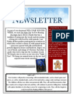 First Grade 2014 January Newsletter Copy
