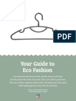 Your Guide to Eco Fashion