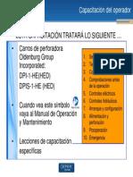 Capacitación de operador (DPI-1-HE_HED y DPIS-1-HE_HED)