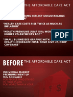 Before the Affordable Care Act