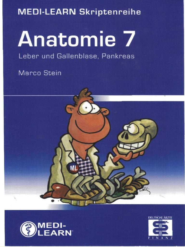 Medi-Learn Anatomie Band 7; 1. Aufl. 2007
