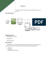 implementation of beackon receiver