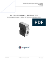 Application Note X Gateway Modbus TCP SCM 1300 002-1-00